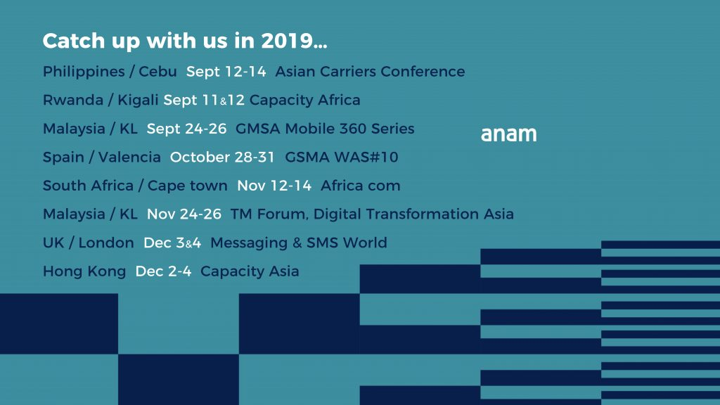 ANAM - The A2P SMS Revenue Experts | News, Resources & Events